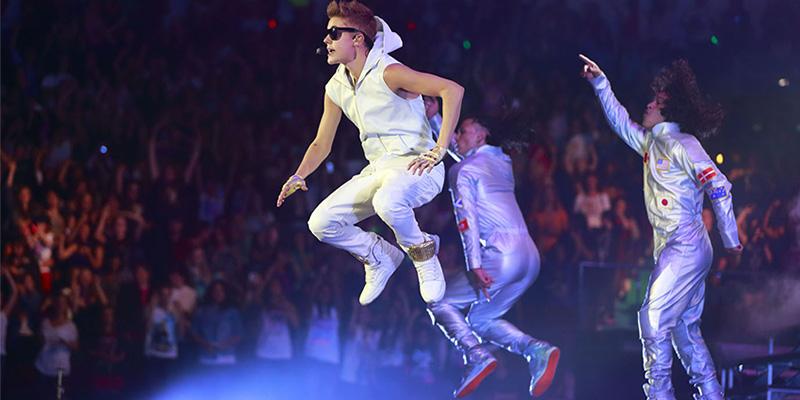 concerto Justin Bieber