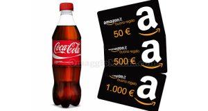 buoni Amazon concorso Coca Cola Natale 2016