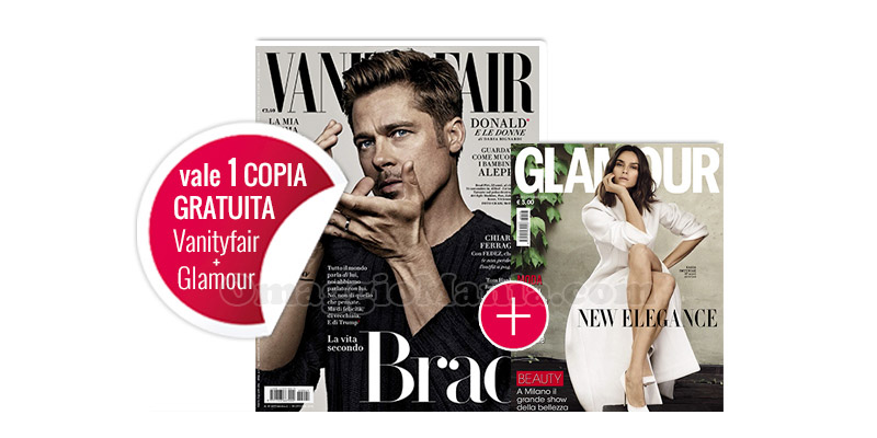 coupon Vanity Fair 41 e Glamour 293