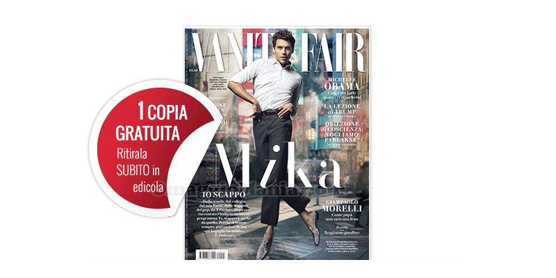 coupon copia omaggio Vanity Fair 43