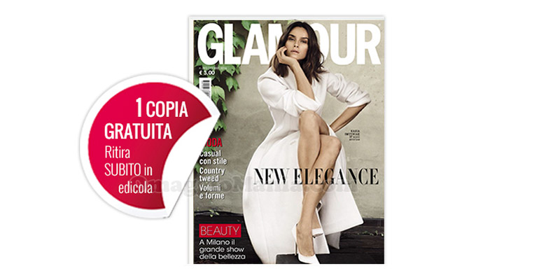 coupon omaggio Glamour 293