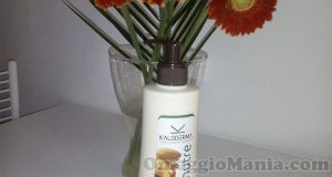 crema fluida corpo Kaloderma Nutre di CesKa con Opinion Model