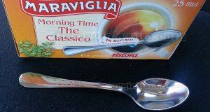cucchiaino inox lusso omaggio con the Maraviglia Ristora