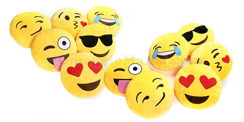 Cuscini Emoticon.Cuscini Emoticon Omaggio Omaggiomania