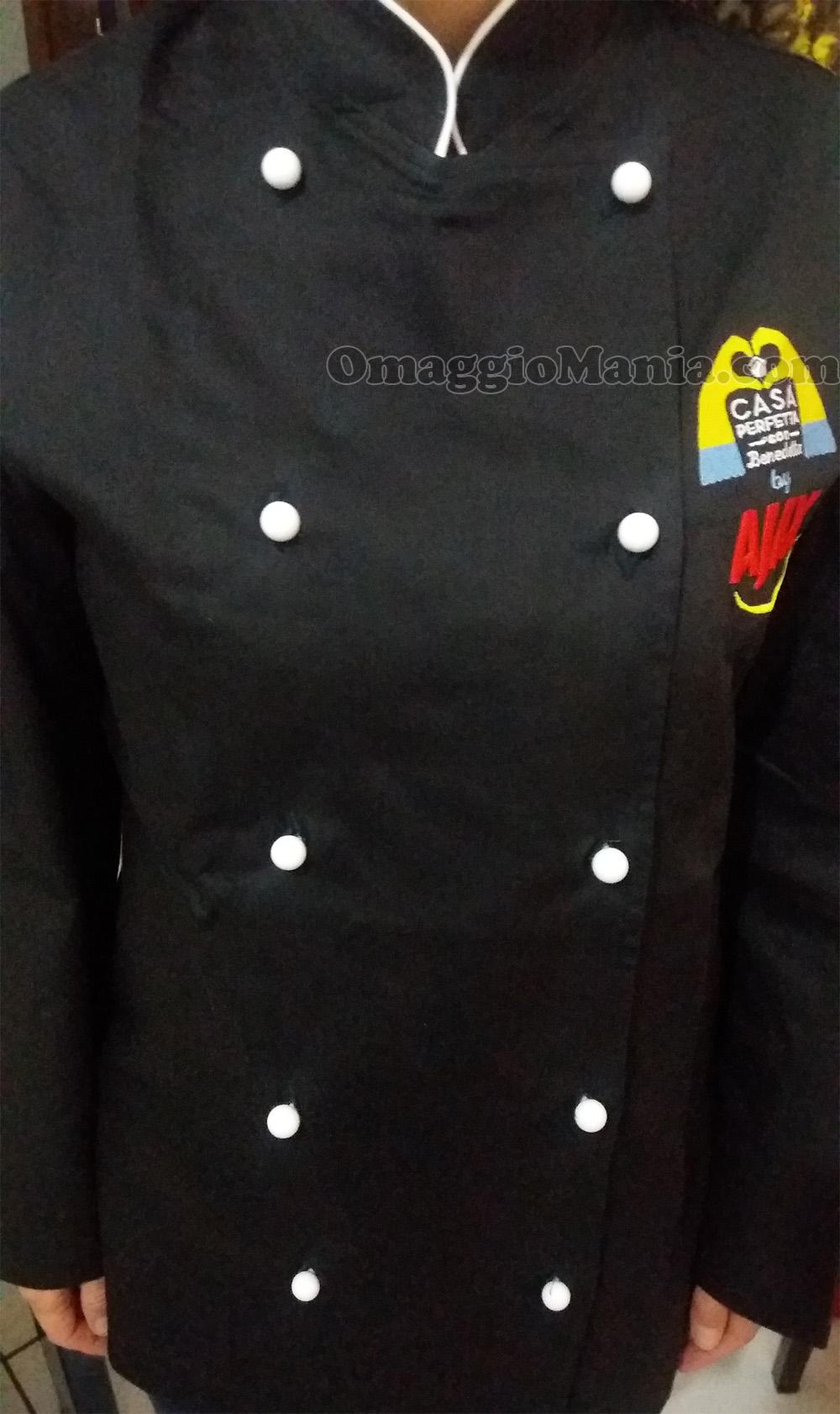 giacca da chef di Nadia