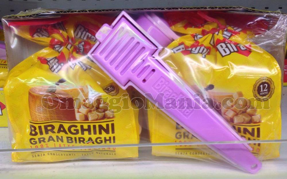 grattugia formaggio omaggio con Biraghini Gran Biraghi
