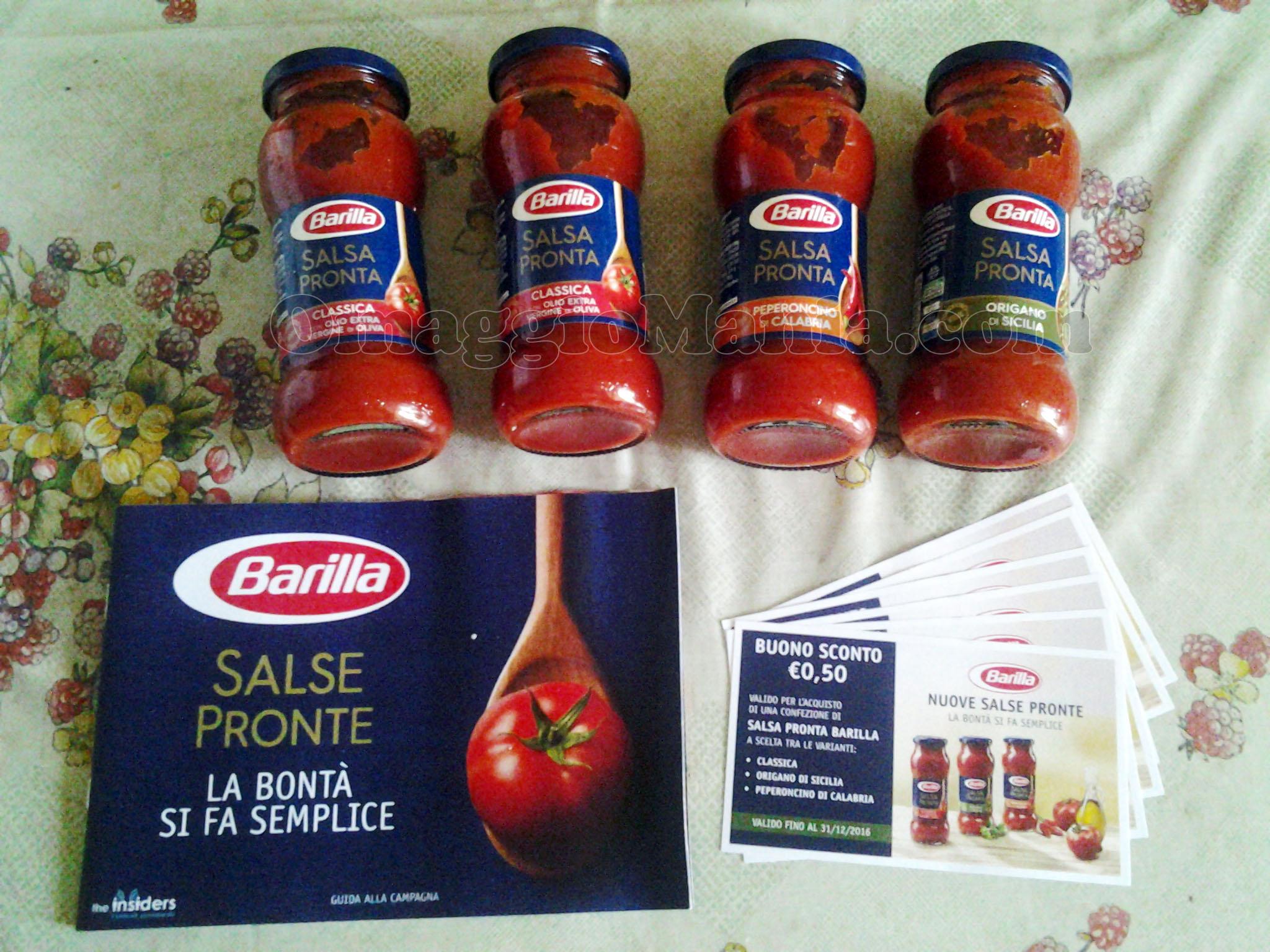 kit Barilla Salsa Pronta di Tizzi