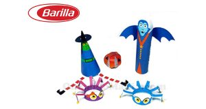 kit Halloween Piccolini Barilla