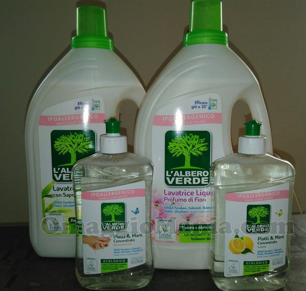 kit L'Albero Verde ricevuto da Gloria