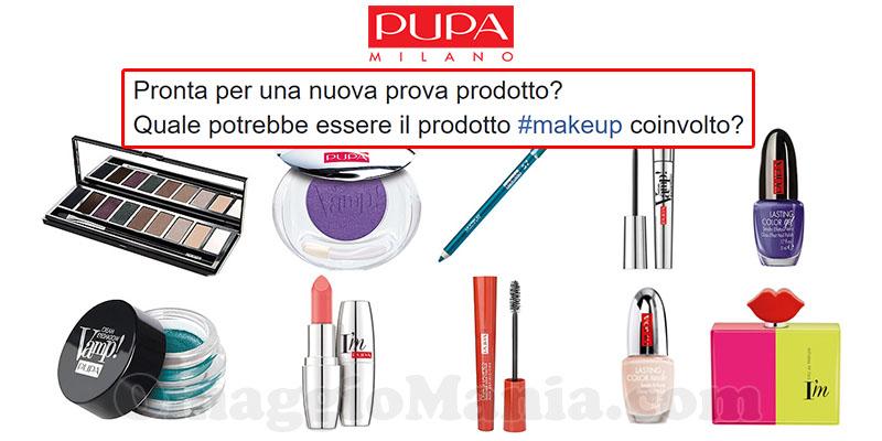 prova prodotto Pupa Milano in arrivo ottobre 2016