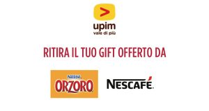 regalo Upim Nestlé Orzoro Nescafé