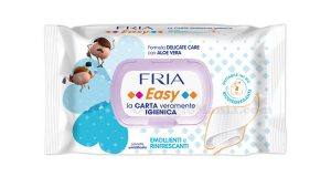 salviette umidificate Fria Easy Delicate Care