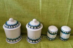 set ceramiche Cerreto di Antonella
