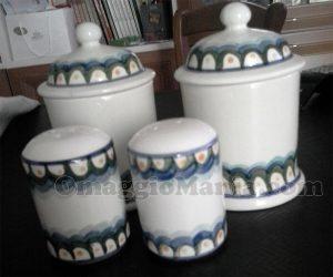 set ceramiche Cerreto di Grazia