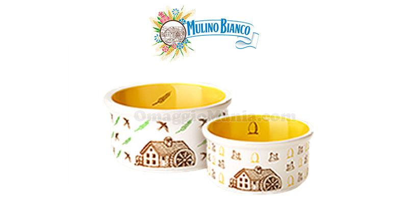 set ciotoline Mulino Bianco