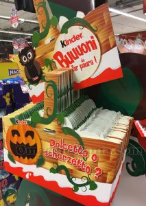 shopper Halloween di Kinder