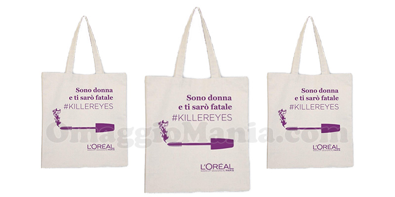 shopping bag L'Oréal KillerEyes