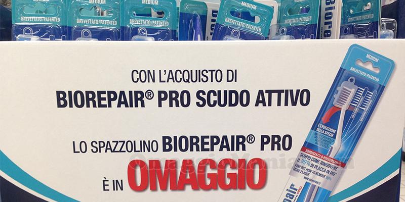 spazzolino Biorepair Pro omaggio
