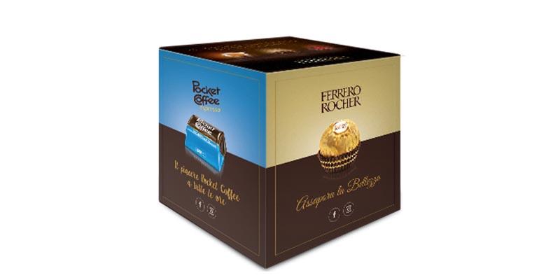 special pack Pocket Coffee e Ferrero Rocher