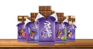 tavolette di cioccolato Milka