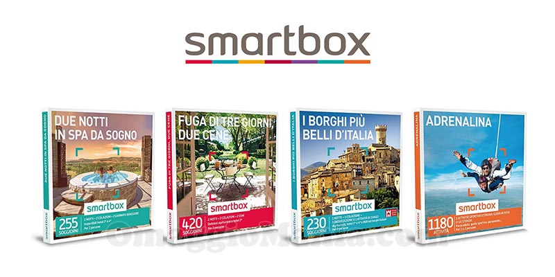 vinci cofanetti Smartbox