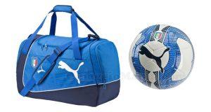 vinci pallone o borsone Nazionale Italiana con Radio Italia