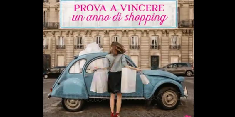 vinci un anno di shopping Vente Privee