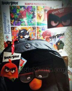 zaino e kit gadget Angry Birds di Giulakaos
