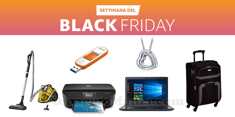 Amazon Settimana del Black Friday 2016