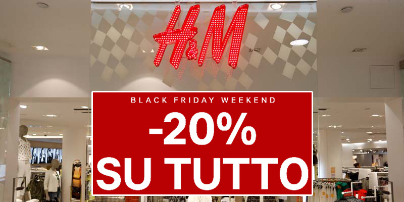 Black Friday H&M 2016