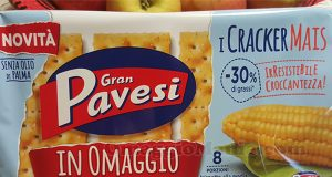 Cracker Mais Pavesi