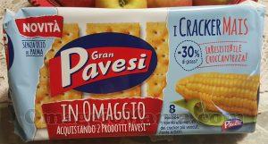 Cracker Mais Pavesi di Sole
