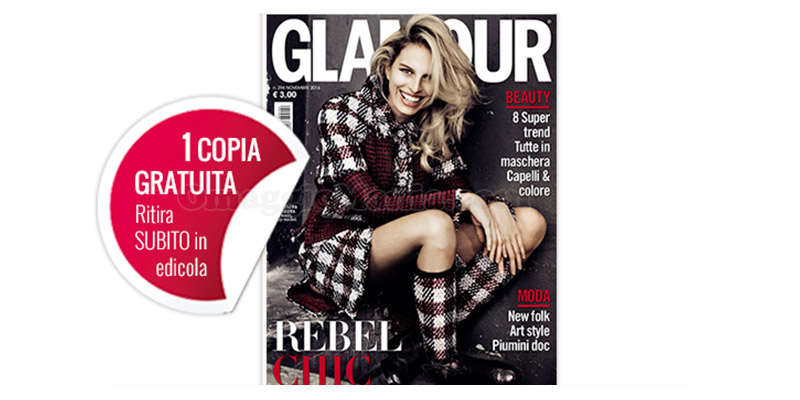 coupon omaggio Glamour 294