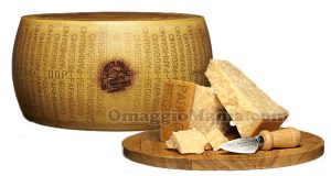 Parmigiano Reggiano forma e pezzi