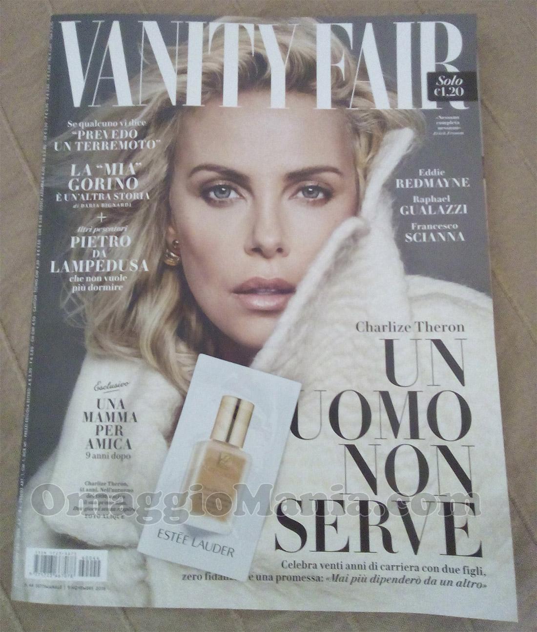 Vanity Fair 44 con campione omaggio Estée Lauder