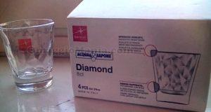 set bicchieri Diamond Bormioli di Giovanna