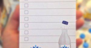 blocchetto lista della spesa Parmalat