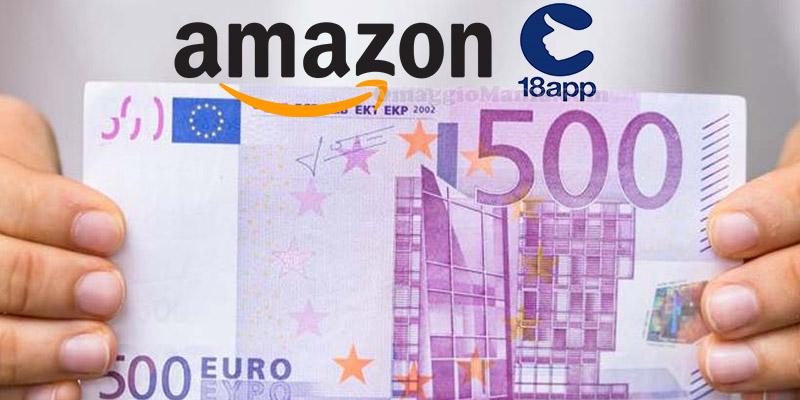 bonus cultura 500 euro su Amazon