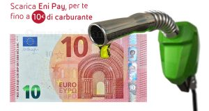 buoni carburante 10 euro Eni Pay