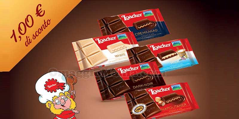 buoni sconto Cioccolato Loacker
