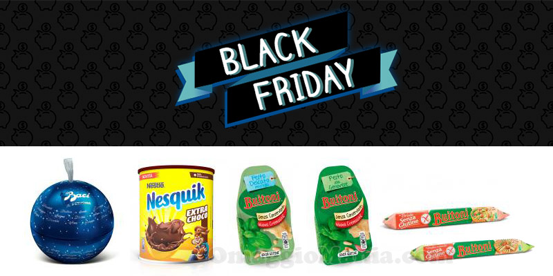 buoni sconto Nestlé Black Friday 2016