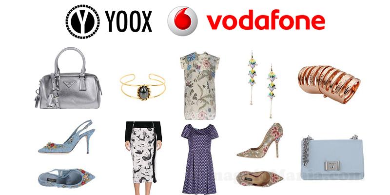 buono Yoox con Vodafone premio novembre 2016