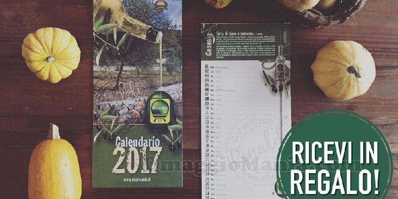 calendario 2017 Olio Rinaldi