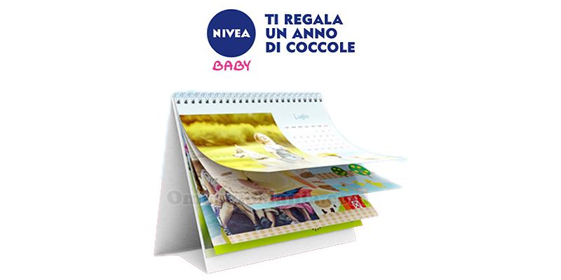 calendario da tavolo 2017 Nivea Baby