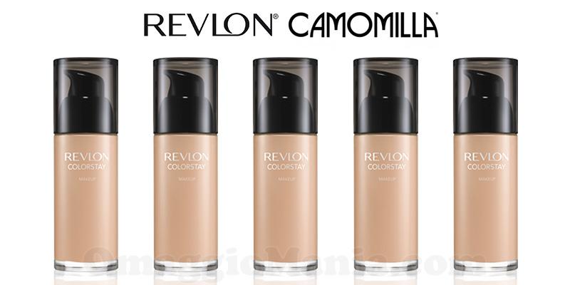 campioni omaggio fondotinta Revlon Colorstay da Camomilla