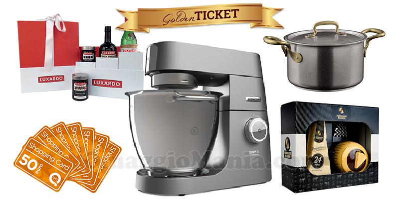 concorso Golden Ticket La Cucina Italiana