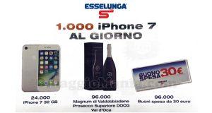 concorso di Natale Festeggia con Esselunga 24.000 iPhone 7