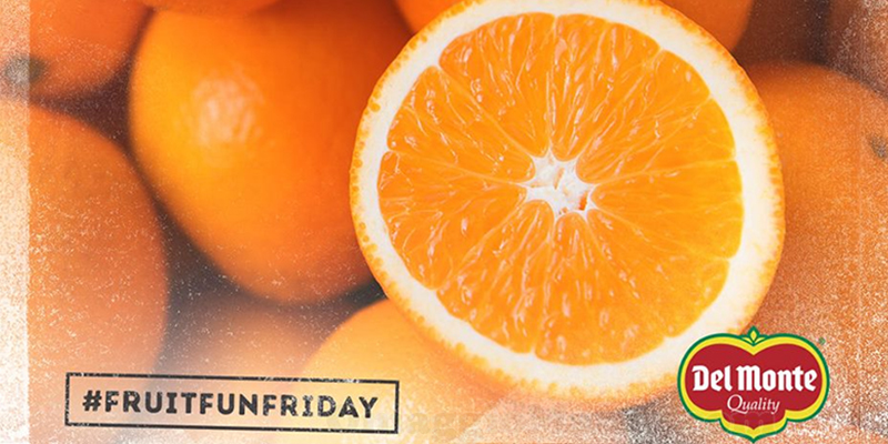 contest Del Monte FruitFunFriday 11 novembre 2016