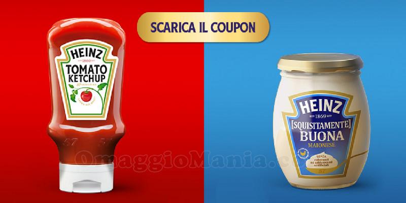 coupon ketchup e maionese Heinz