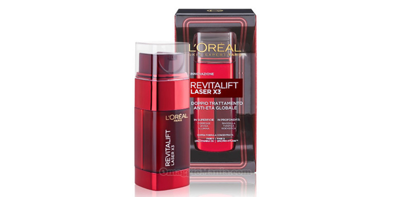doppio trattamento L'Oréal Revitalift Laser X3